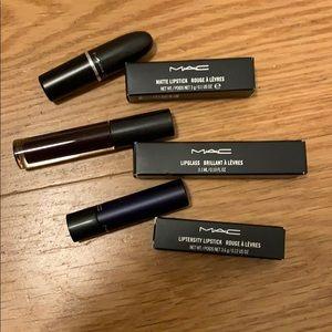 MAC Halloween makeup lipstick&lipglass